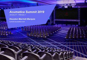 Hadiah Acumatica Summit 2019