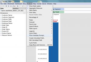 Koneksi Tableau dengan SAP HANA