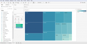 Cara Membuat Tree Map di Tableau Public