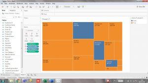 Cara Membuat Tree Map di Tableau Public