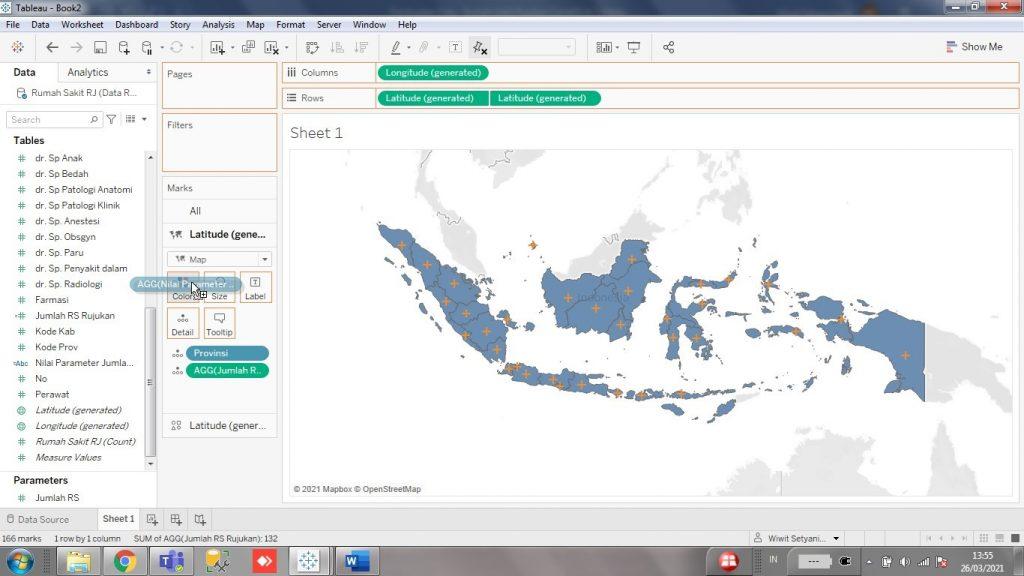 Peta Rumah Sakit Rujukan Covid