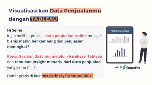 Buka Potensi Data Lebih Menarik di Tableau Clinic